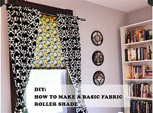 Diy, How, To, Make, A, Basic, Fabric, Roller, Shade