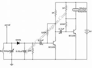 Two Transistors Am Radio Receiver  U2013 Simple Circuit Diagram