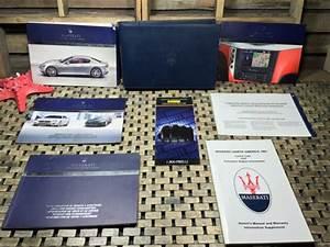 2008 2009 Maserati Granturismo Owners Manual   Media