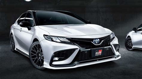 Toyota Camry Gets Stylish And Sporty Exterior Updates In Japan