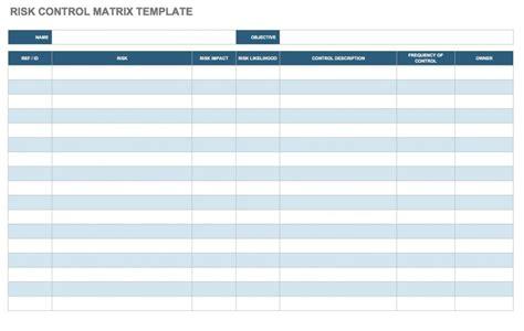risk assessment matrix template free risk assessment matrix templates smartsheet