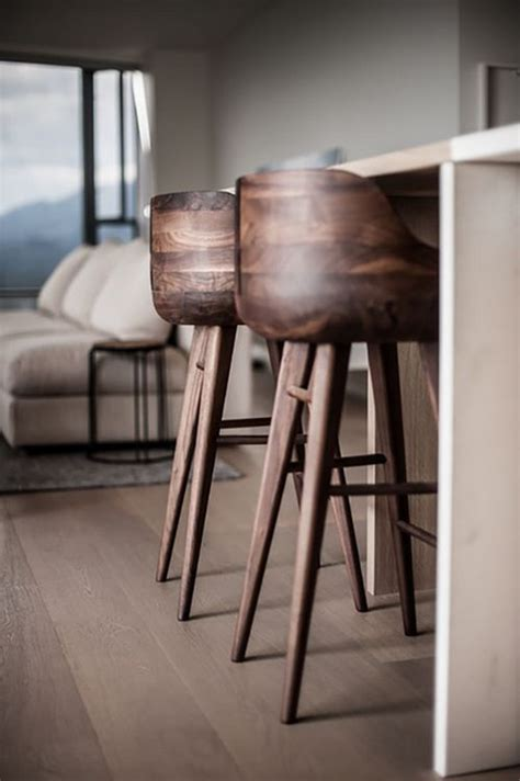 Wood Counter Stools - top 7 kitchen stools with wooden base