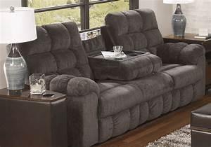 Acieona Reclining Sofa W Drop Down Table Louisville