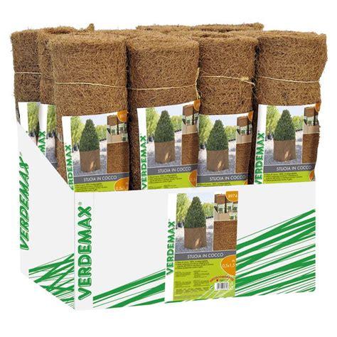 stuoia cocco stuoia in cocco teli pacciamatura in tnt nero verdemax