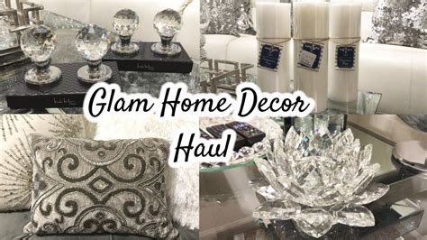 glam home decor haul homegoods haul giveaway closed