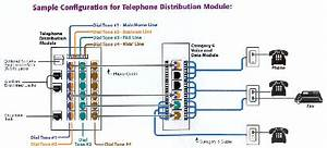 Electric Work  Phone Wiring Diagram  1