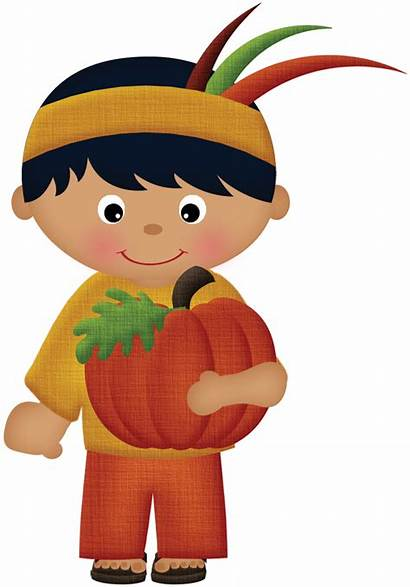 Thanksgiving Indian Clipart Clip Minus Halloween Fall
