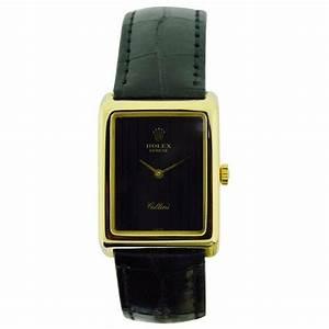 Rolex Watch Company Ladies Yellow Gold Cellini Wrist Watch ...