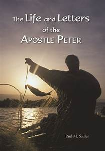 Addressing Cover Letters Paperback The Life And Letters Of The Apostle Peter