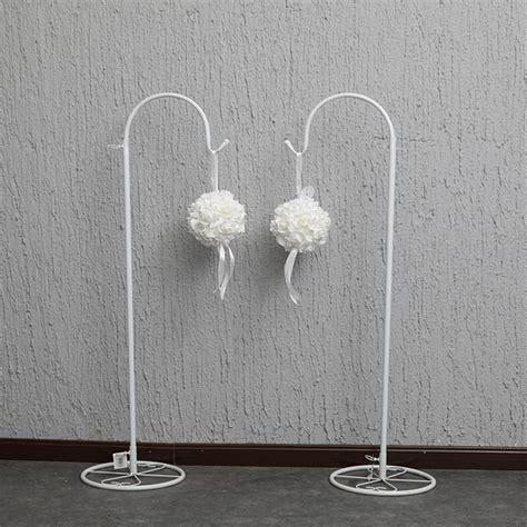 cm long white adjustable wedding garden shepherd