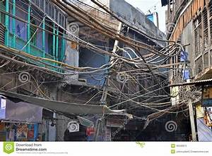 Electrical Wiring In India Editorial Stock Photo  Image Of