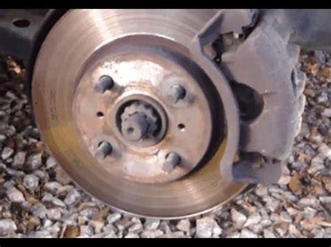 change front brake pads toyota corolla years