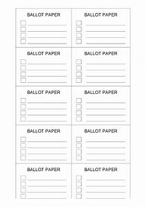 file name ballot paper template 1png resolution 728 x With voting slips template