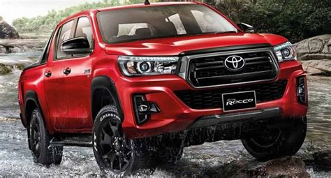 2019 Toyota Hilux Restylated And New Rocco Versions 2018