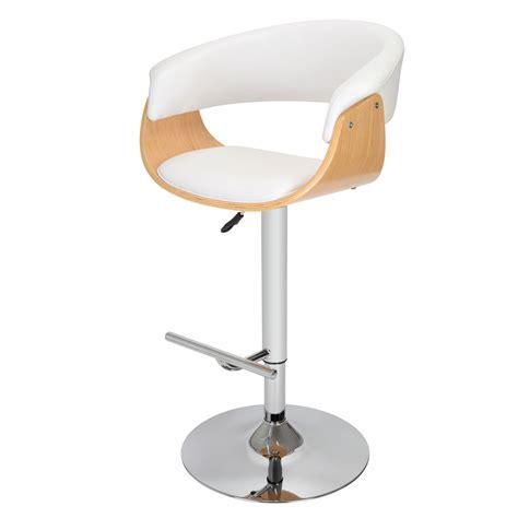 fauteuil de cuisine fauteuil de bar oslo blanc 34 2m 004w achat vente