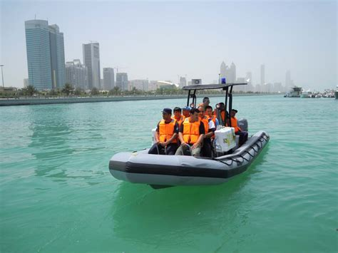 Zodiac Boat Training by Zodiac Milpro Completes Training Of Abu Dhabi Airport