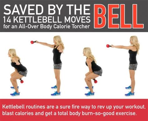 kettlebell moves workout body fitneass toned tight infographics norey cpt mark february