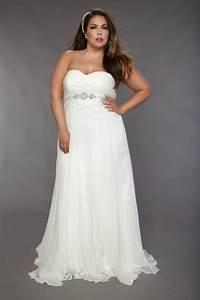 simple plus size wedding dresses cherrymarry With plus size simple wedding dresses