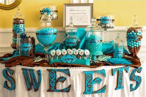 Beach Party Candy Buffet Ideas