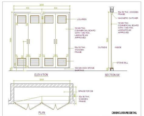 kitchen cabinets details electrical distribution board cabinet detail plan n design 2966
