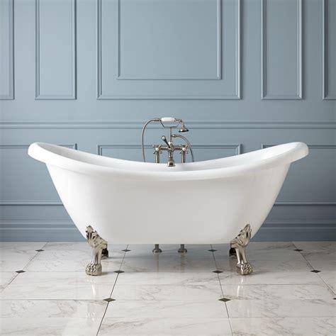 """70"""" Hoyt Acrylic Clawfoot Tub  Lion Paw Feet Bathroom"""