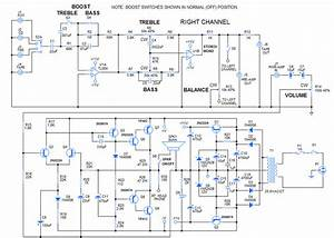 How To Diy 30 Watt Stereo Amplifier Circuit    Fmuser