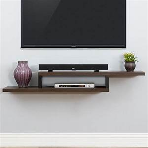 Martin, Home, Furnishings, Ascend, 60, U0026quot, Asymmetrical, Wall, Mounted, Tv, Component, Shelf