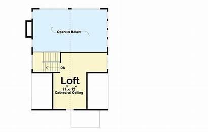 Garage Detached Loft Cabin Plan Plans Floor