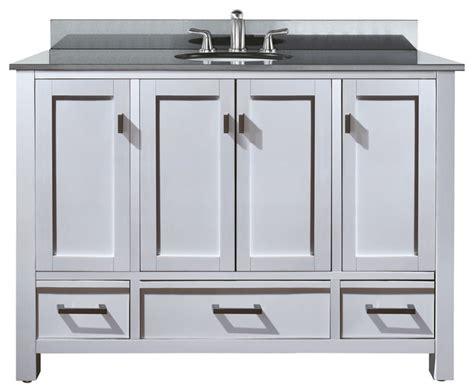 modero 48 vanity combo espresso black granite top
