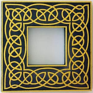 Celtic frame by szmyk on DeviantArt