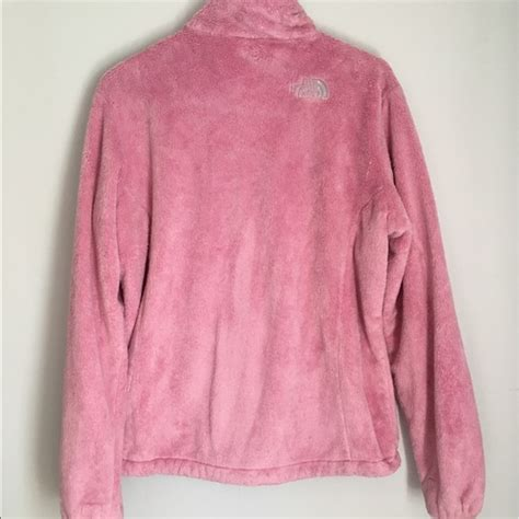 light pink north face fleece 73 off north face jackets blazers the north face