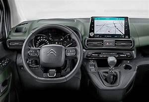 2018 Citroen Berlingo Shown In Passenger Van Form Ahead