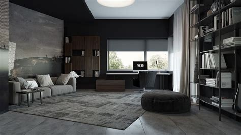 3 Living Spaces With And Decadent Black Interiors by 1000 Images About Living Room Designs On Home