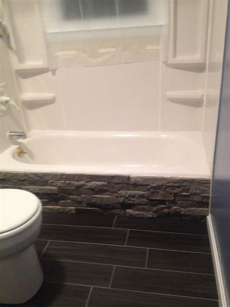 remodeled  bathroom  couldnt afford  replace