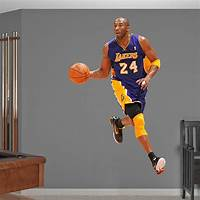 lovely nba wall decals Life-Size Kobe Bryant - No. 24 Wall Decal   Shop Fathead® for Los Angeles Lakers Decor