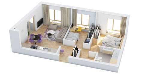 bedroom home floor plans