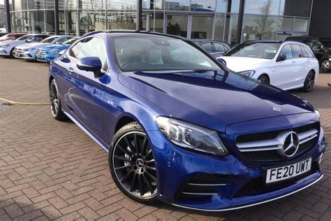 """Amg c 43 4matic cabriolet. Used 2020 """"MERCEDES-BENZ"""" """"C CLASS AMG COUPE"""" """"C43 4Matic Premium Plus 2dr 9G-Tronic"""" for sale ..."""