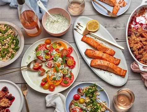 Our Best Menus by Our Summer Dinner Menu Goop