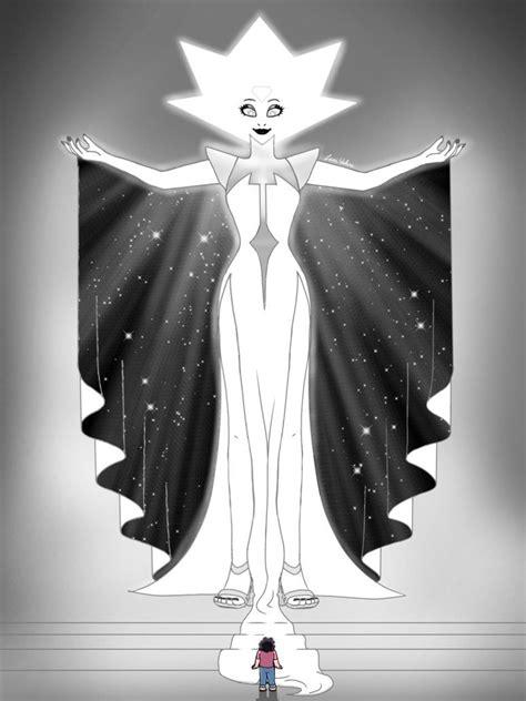 white diamond  laniwolves steven universe white