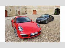 Porsche 911 vs Aston Martin V8 Vantage Exotic Car List