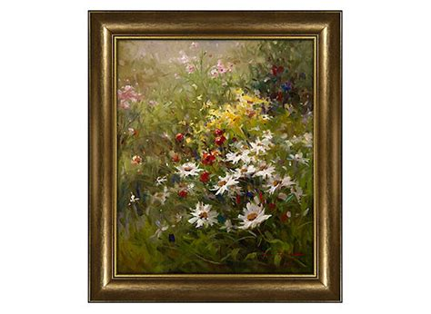 raymour and flanigan wall daisies framed wall raymour flanigan 7630