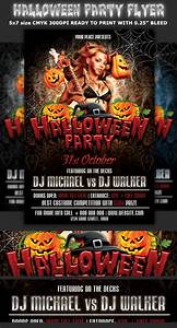 Halloween, Party, Flyer, Template, On, Behance