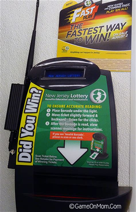 scan lottery tickets at home win fast with fast play from the nj lottery on