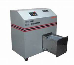hard drive destruction shredders punches deguassing With document destruction equipment