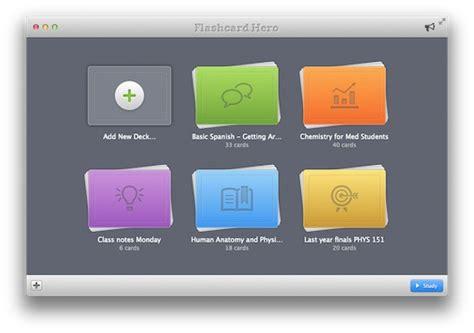 Flashcard Hero App Preview  Kitestack Software