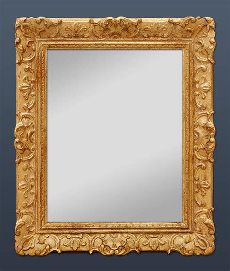miroirs anciens bois dore miroir ancien style louis xiv