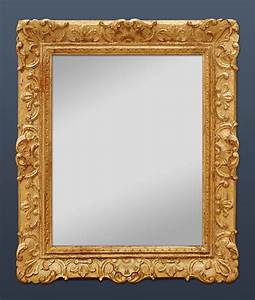 Miroir Doré Rectangulaire : miroir ancien style louis xiv ~ Teatrodelosmanantiales.com Idées de Décoration