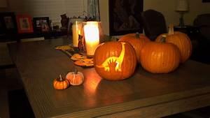 The, Good, Dinosaur, Pumpkin, Carving, Stencil