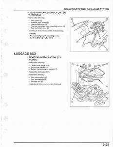 Honda Pcx 150 2013 Model Workshop Manual Pdf