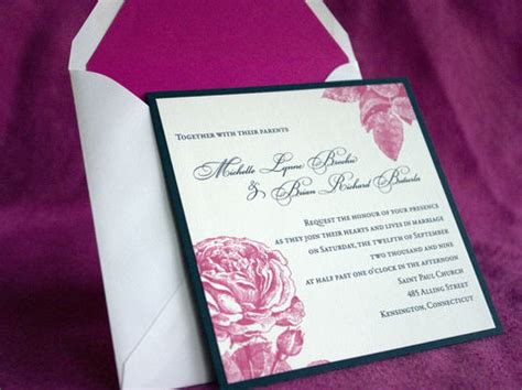 melbourne wedding invitation sle tulaloo